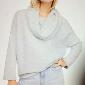 Free People Huntington Pullover Cowl Neck